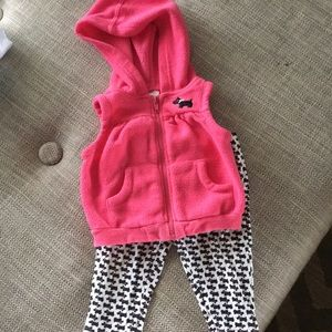 Two piece baby girl set